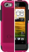 Commuter Series for HTC One V - Black/Hot Pink