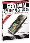 Garmin GPSMAP 76Cx/CSx Instructional DVD by Bennet