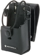 Motorola RLN6302 Leather Case with 3   Swivel for