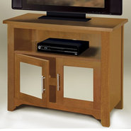 EL783  36-in Wide Hi Boy TV Stand - Genuine Oak Wo