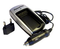 Rapid AC/DC Travel Charger For Canon NB-5L