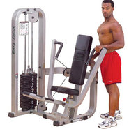 SBP100G-3 Pro Club Line Chest Press + 310lb. Weigh