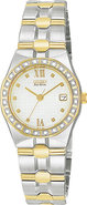 Diamond Riva White Dial Ladies Watch EW0484-59A