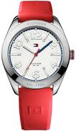 Red Silicone Ladies Watch 1781258