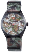 Trooper Canvas Mens Watch 06-4T1-13-016T6