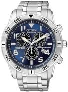 Eco-Drive Alarm Chronograph Perpetual Mens Watch B