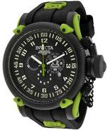 Russian Diver Silicone Chronograph Mens Watch 1018