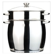1102542 3-Piece 11-in Cosmo Pasta Pot
