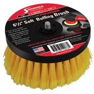 "6-½"" Soft Brush f/Dual Action Polisher"