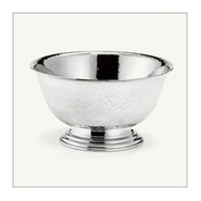 52100-0 Patriot Pewter 6  Revere Hammered Bowl