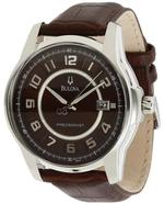 Precisionist Leather Mens Watch 96B128