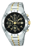 Two-Tone Chronograph Mens Watch PF8188