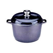 2302422 - 8 Inch Scalla Covered Stockpot  with gla