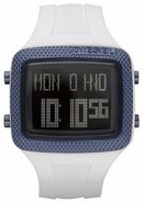 Space Age White   Digital Mens Watch DZ7215