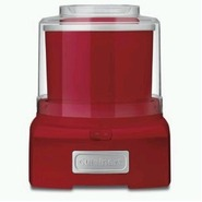 ICE-21R Frozen Yogurt-Ice Cream & Sorbet Maker- Re
