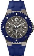 Blue Silicone Mens Watch U12655G1