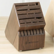 7263-3 22 Slot  Block - Walnut