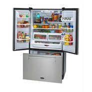 HLP36FDSS 36 W Refrigerator with Water and Ice - S