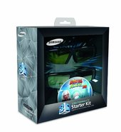 3D Starter Kit - Two pairs of active 3D glasses an