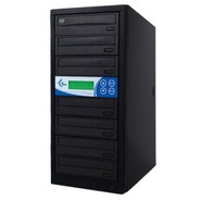 GS6SOB Black 6 Copy DVD/CD Duplicator Features Son