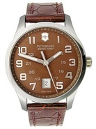 Victorinox Alliance Leather Mens Watch 241323