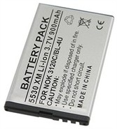 Lithium Battery For Nokia 3120 Classic, 500, 5250,