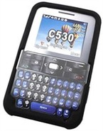 Black Silicone Skin Case For Pantech Slate C530