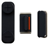 Button Set Assembly Part For Apple iPhone 5 - Blac