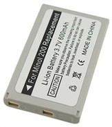 Lithium Battery (NP-200) For Minolta Dimage X, Xg,