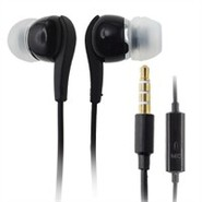 Black Stereo Hands-free Headset 3.5mm For Cell Pho