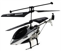 Black / Silver Mini Helicopter With Remote Control