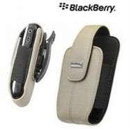 White BlackBerry (Curve 8300 Series) Leather Swive