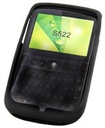 Black Silicone Skin Case For T-Mobile Dash 3G