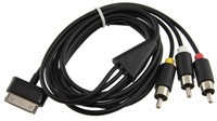 Composite AV Cable For Samsung Galaxy Tab