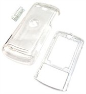 Clear Snap-On Cover For Motorola Z6, Z6m, Z6tv