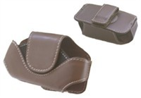Brown Leather Carrying Pouch Case For Audiovox 850