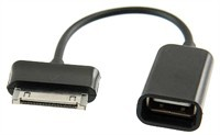 30-Pin to USB OTG Adapter Cable for Samsung Galaxy