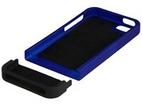 Blue / Black Back Protector Case For Apple iPhone