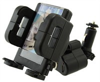 3-in-1 Cigarette Lighter Socket  Car Mount Holder
