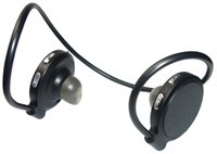 Black Bluetooth Stereo Headset
