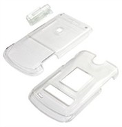Clear Snap-On Cover For LG VX8600