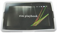 Clear Silicone Skin Case For BlackBerry PlayBook