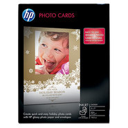 Glossy Photo Cards-10 sht/5 x 7 in with envelopes