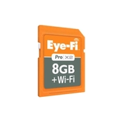 8 GB Pro X2 SDHC Memory Card (EYE-FI-8PC)