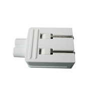 Dell Refurbished: 2-Pin White Power Plug for Dell 