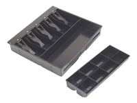 Mmf Cash Drawers 225-1504-04 Cash Drawer Tray - Bl