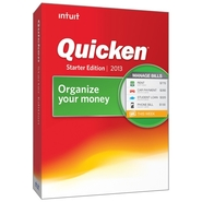 Intuit Download-Quicken Starter Edition 2013 (4193