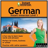 Instant Immersion German Level 1 - License - 1 use