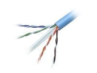 CAT6 Blue Solid Bulk Cable - 500 ft (A7L704-500-BL