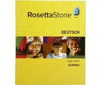 Rosetta Stone Version 3: German Level 1, 2 & 3 Set